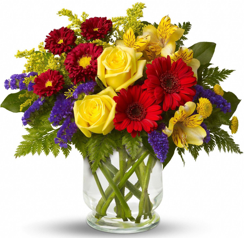 Фото рисунок на день рождения цветы