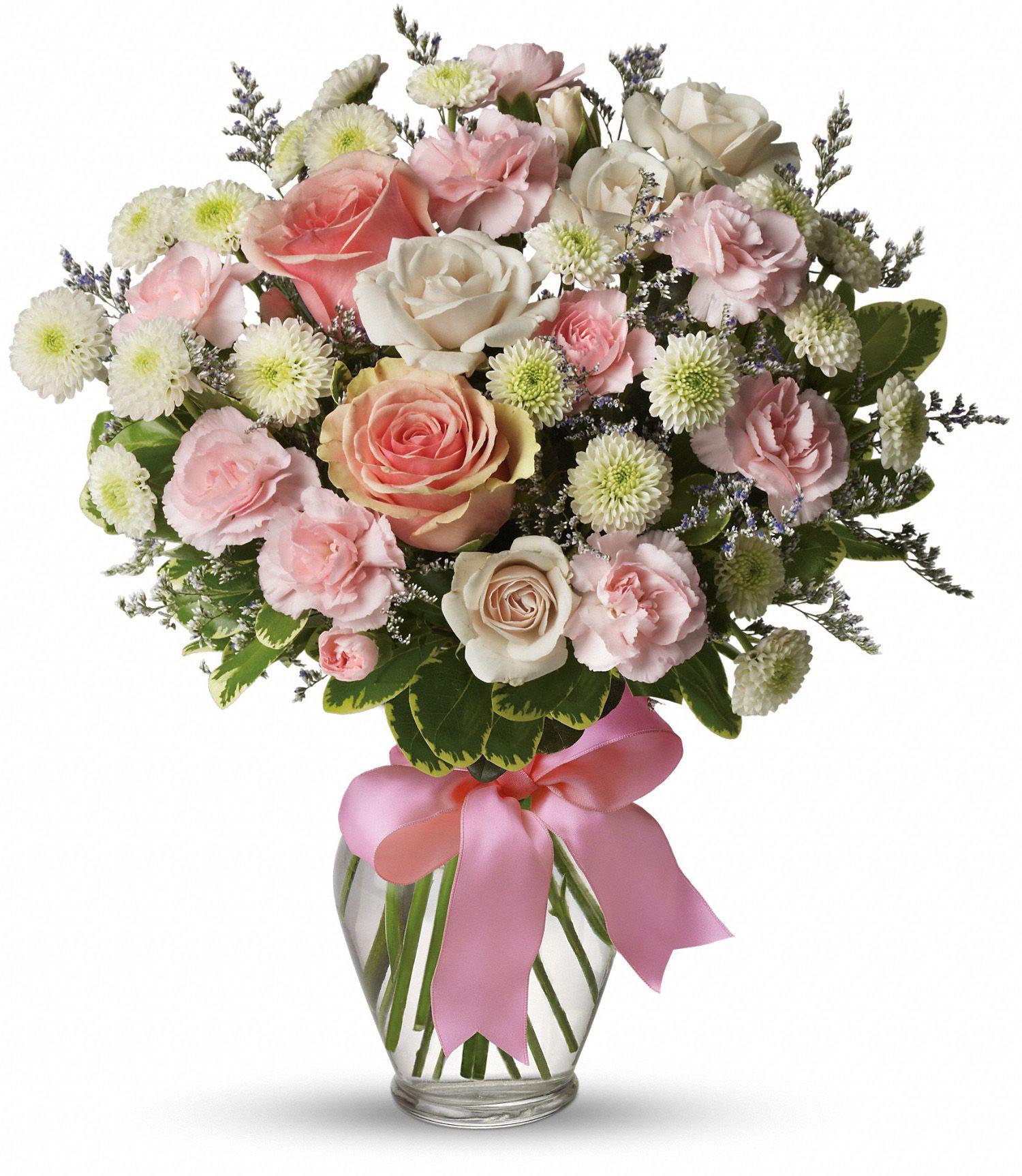 Букет роз фото в вазе