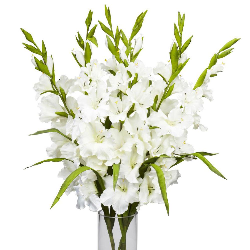 Белые лилии букет фото