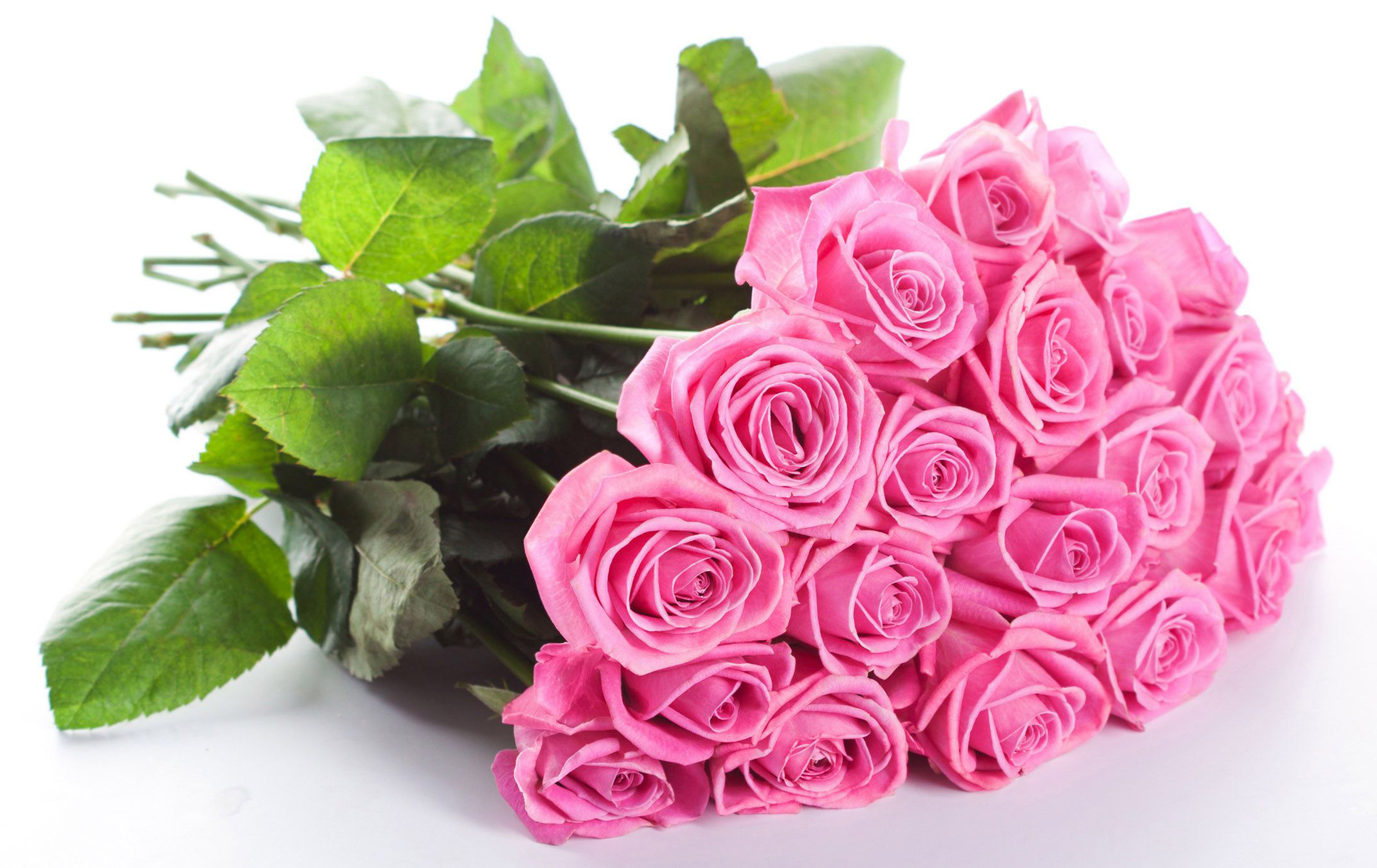 Шикарный букет роз фото