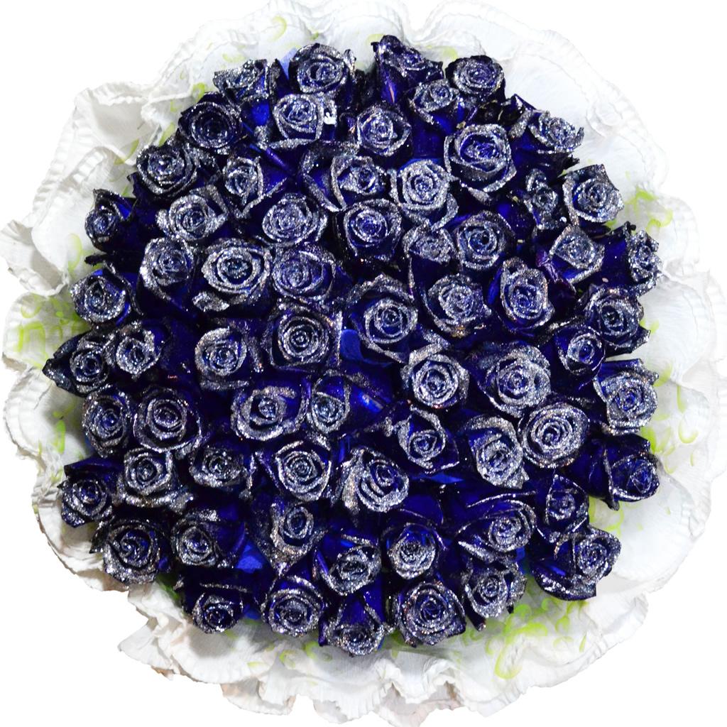 Фото цветов роз с блестками
