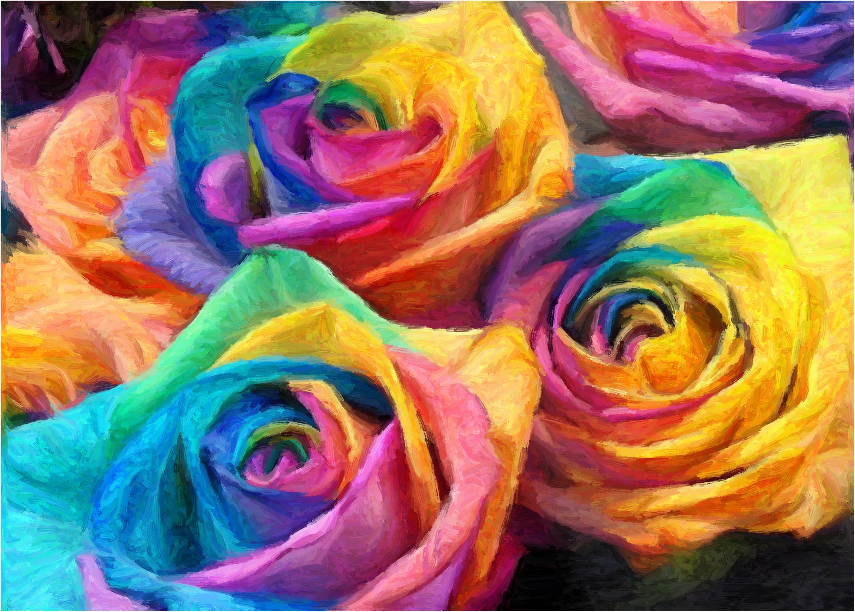 Фотографии и картинки необычных радужных цветов: http://kartinki-cvetov.ru/raduzhnye-cvety.html
