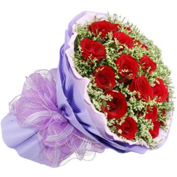 Большой букет с розами