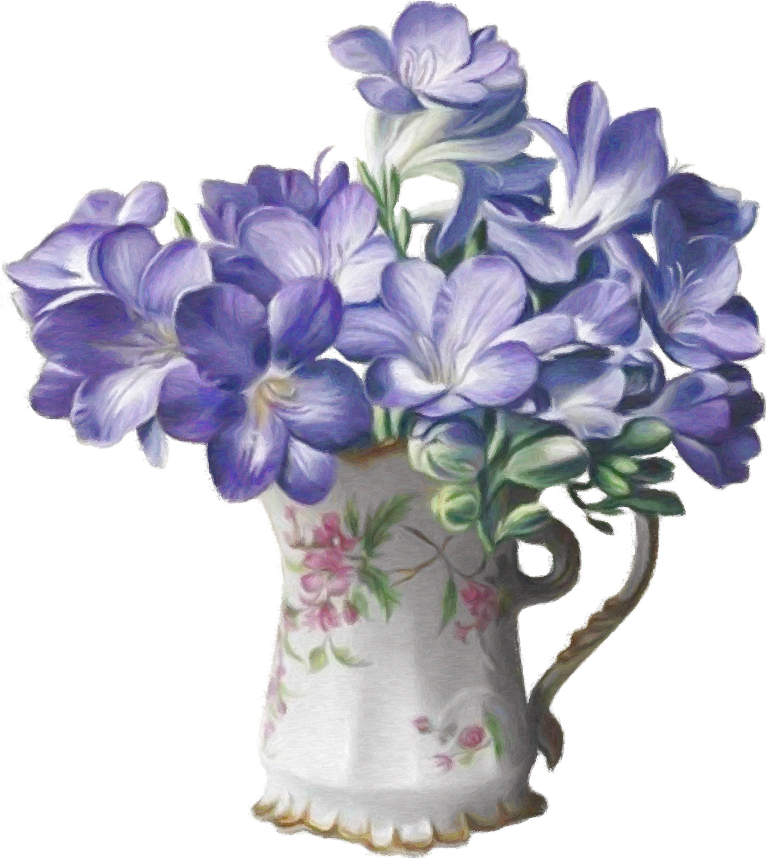 Подсолнухи в вазе рисунок