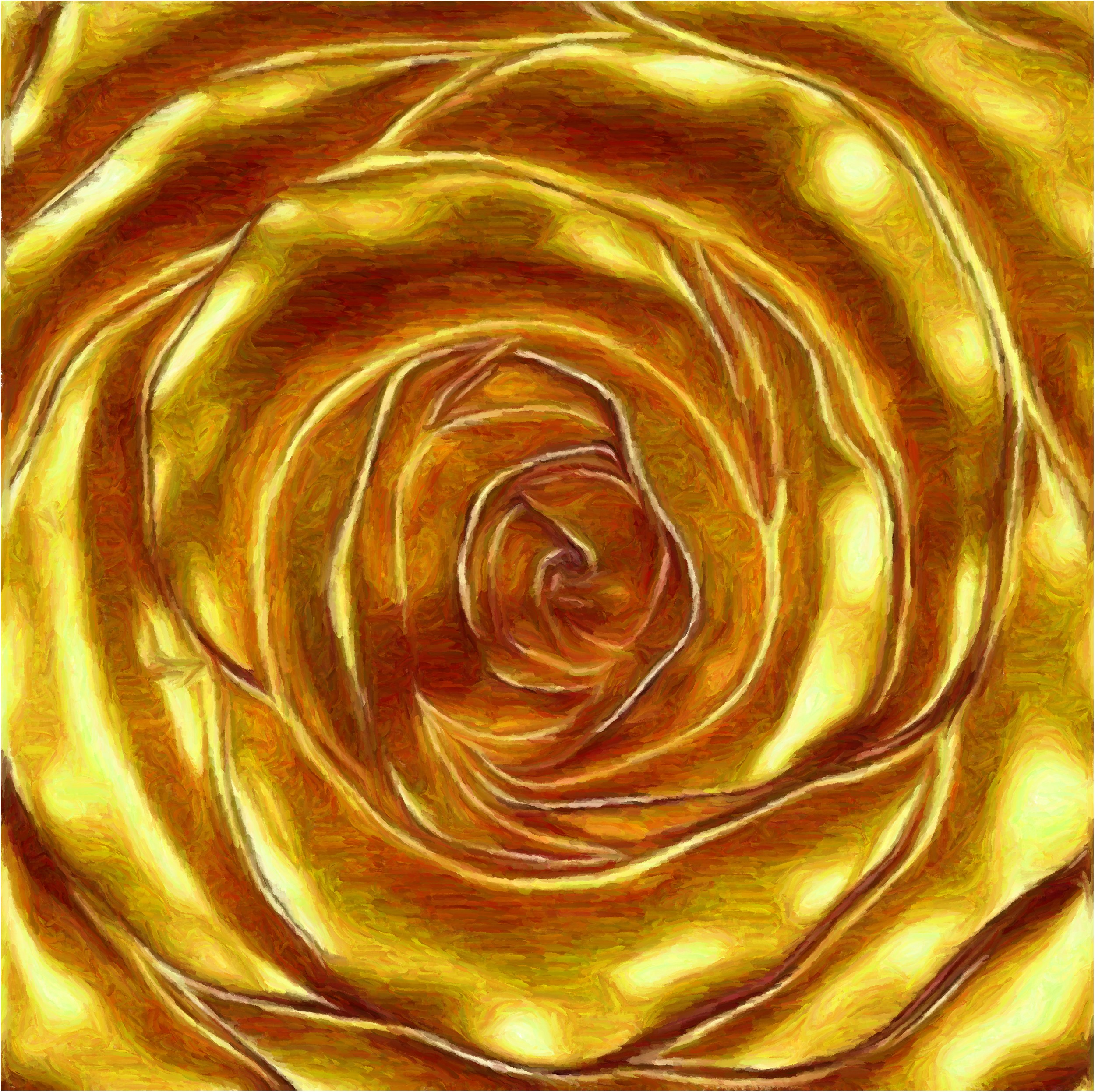 Золотые розы фото 5